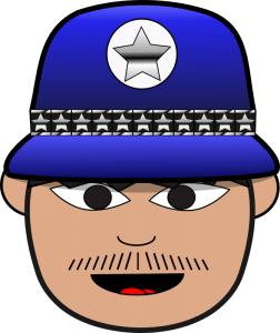 a police officer clip art