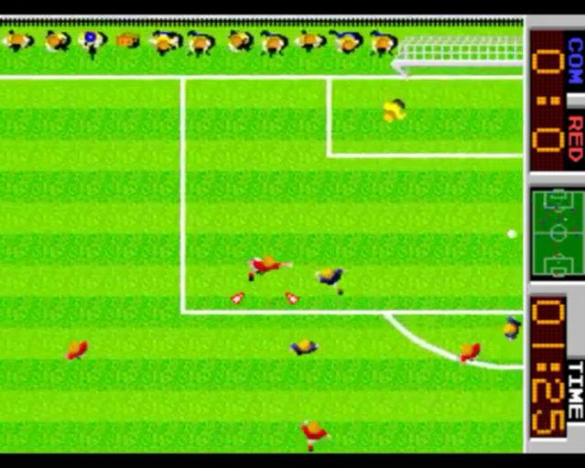 Tehkan World Cup, an 80s arcade game