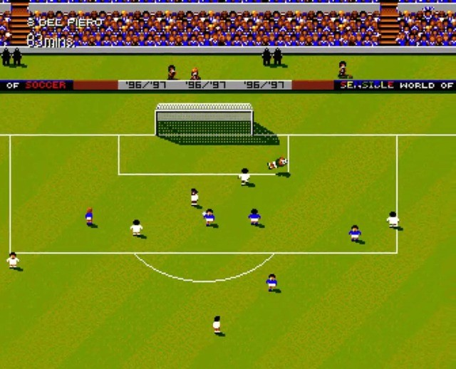 Sensible World of Soccer 96/97 on the Amiga