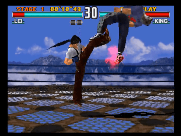 Tekken 3 on the PlayStation