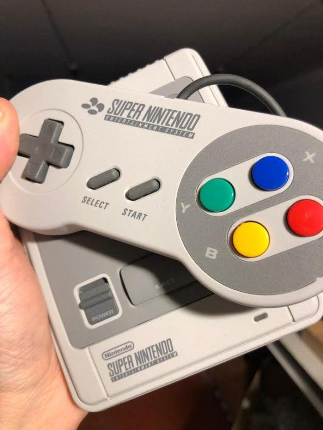 The Super Nintendo Classic Mini
