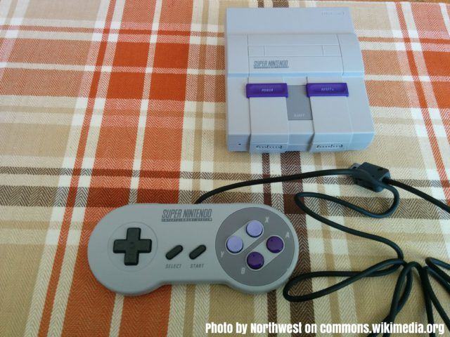 The Snes Mini US version