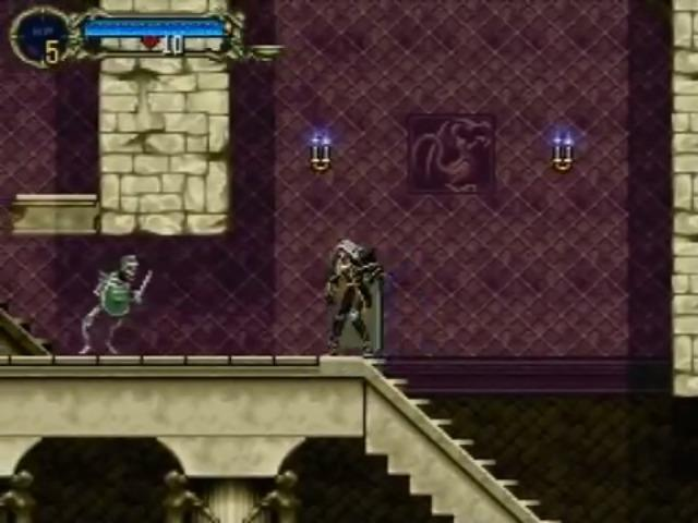 Castlevania: Symphony of the Night on the PS1