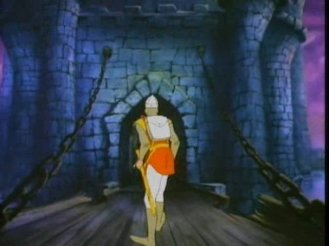Dragon's Lair a 1983 laserdisc video game released for arcades