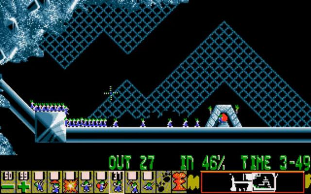 Lemmings on the Amiga