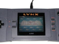 The Atari Linx handheld console