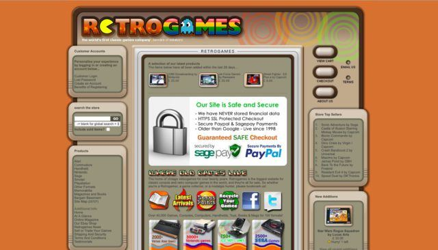 Top Five Retro Game Shops Online – Hunting for (G)old Vol  2