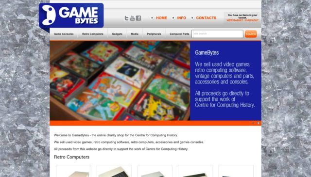 GameBytes homepage