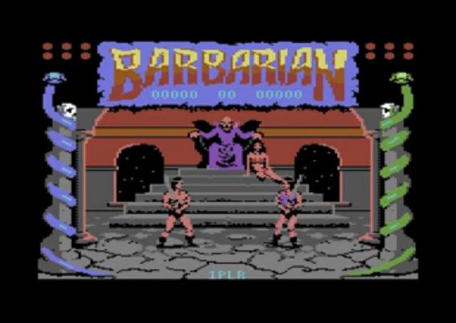 Barbarian: the Ultimate Warrior on the Commodore 64