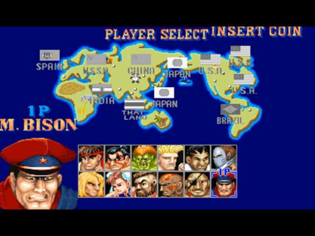 M. Bison in Street Fighter 2