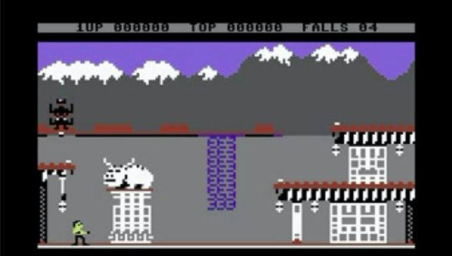 Bruce Lee for Commodore 64