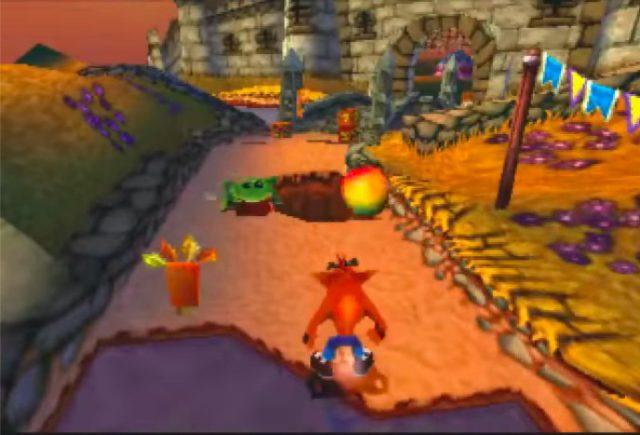 Crash Bandicoot: Warped on the PS1