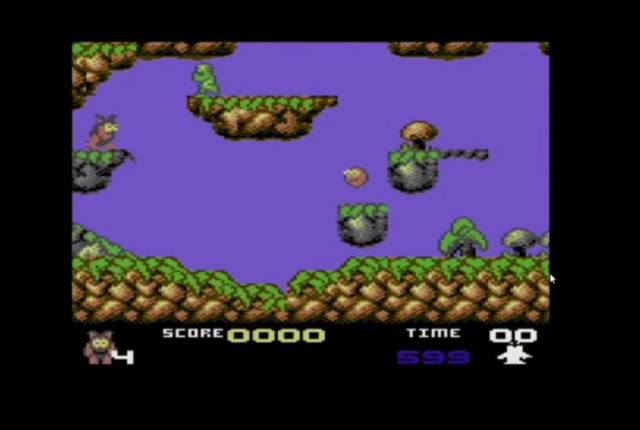 Creatures on the Commodore 64