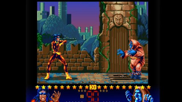 A screenshot from Dangerous Streets for Amiga CD32