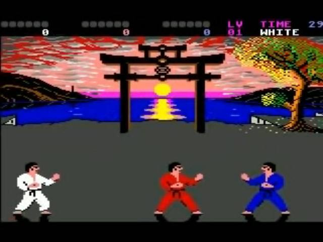 International Karate + on the Commodore 64