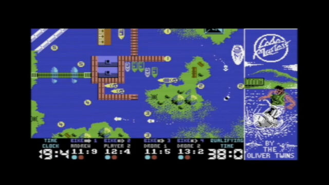 Jet Bike Simulator, Commodore 64 version