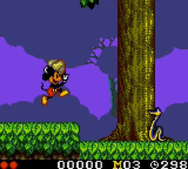 A screenshot from Land of Illusion Starring Mickey Mouse