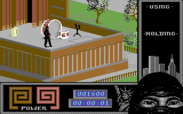 Last Ninja 2 on the Commodore 64