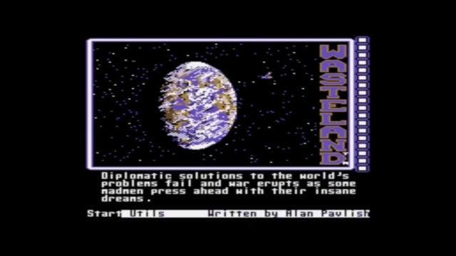 Wasteland for Commodore 64