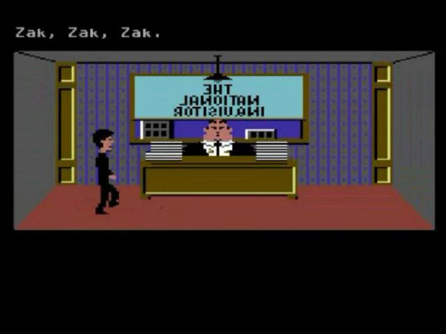 Zak Mckracken and the Alien Mindbenders on the Commodore 64