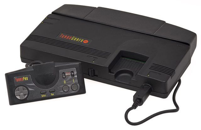 The TurboGrafx-16 console