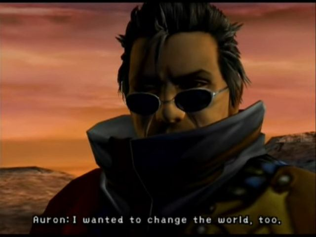 Auron from Final Fantasy X