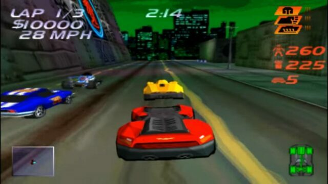 Carmageddon on the PS1