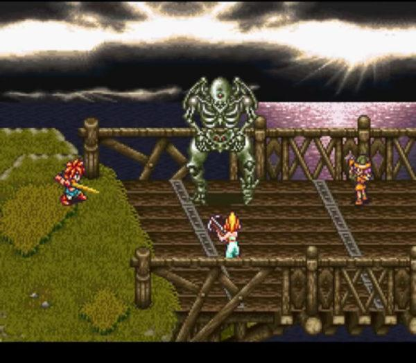 Chrono Trigger, a game that was originally published on the Super Nes