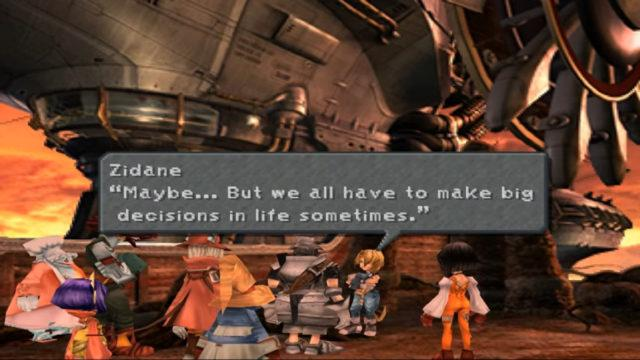 Final Fantasy IX, a game that was originally published on the PS1