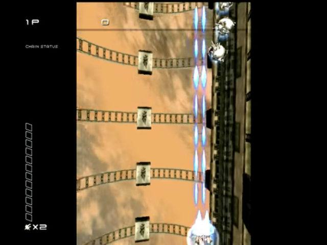 Ikaruga on the Dreamcast