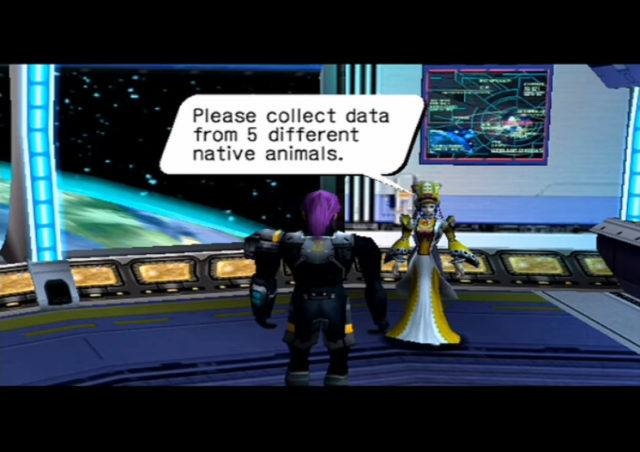 Phantasy Star Online on the Dreamcast
