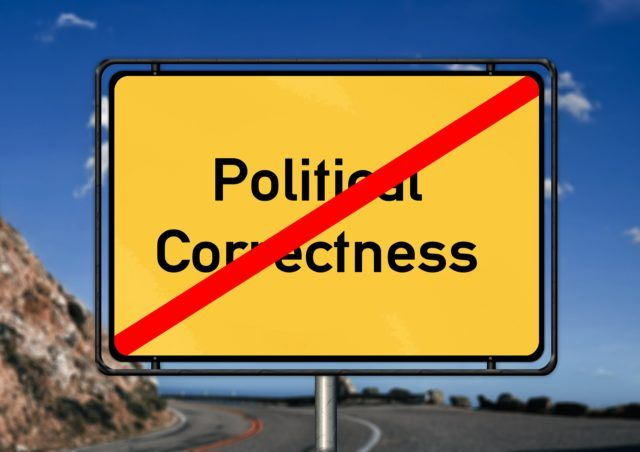 Signal neglecting political correctness