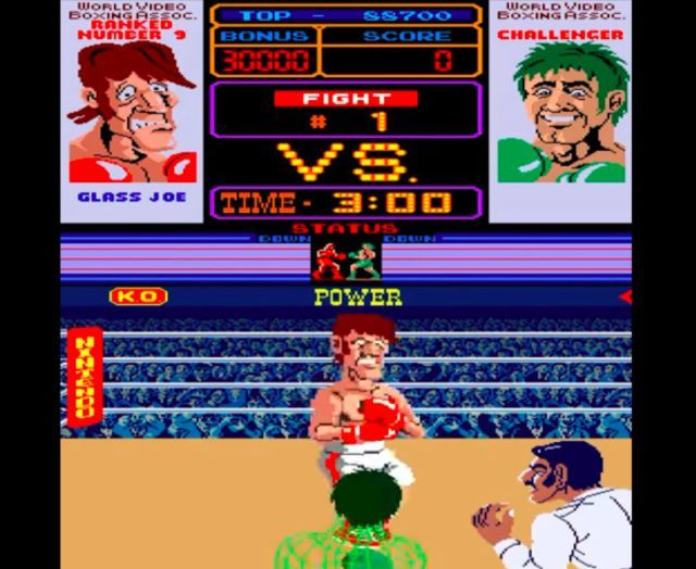 Punch Out!! arcade version