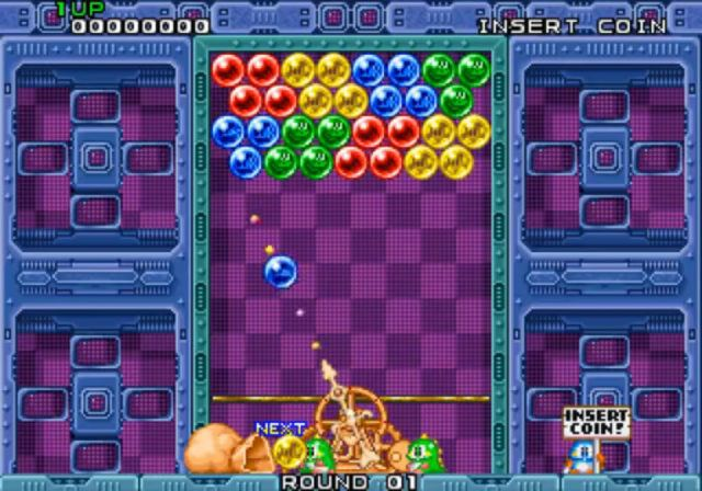 Puzzle Bobble arcade version