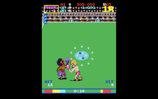 Ring King arcade version