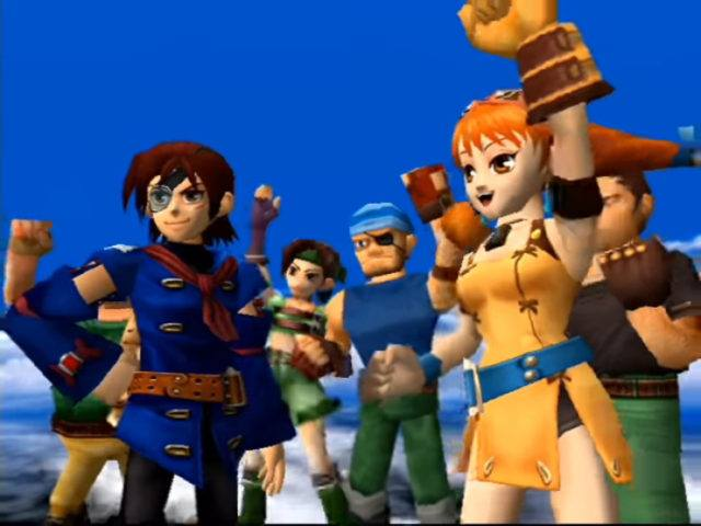 Skies of Arcadia on the Dreamcast