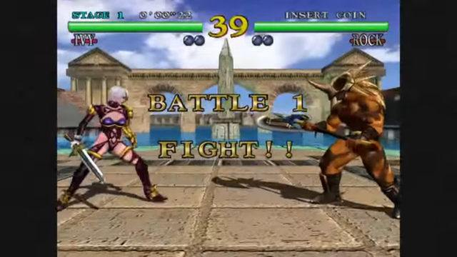 Soul Calibur arcade version