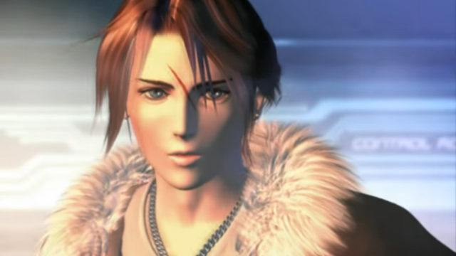 Squall Leonhart from Final Fantasy VIII