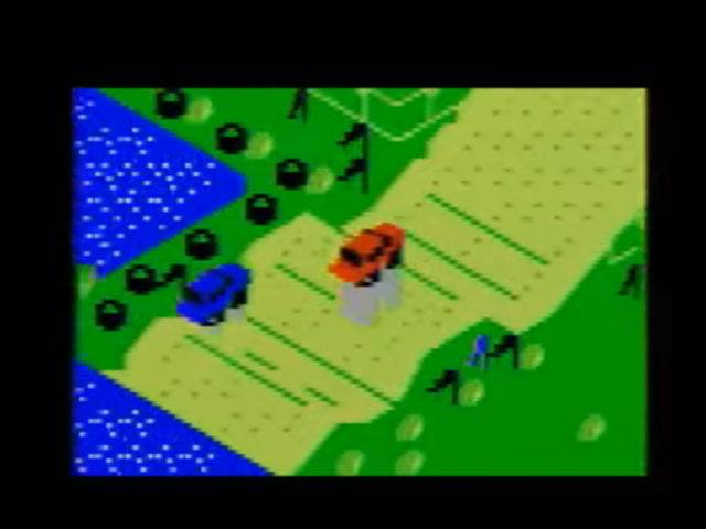 Stadium Mud Buggies on the Intellivision