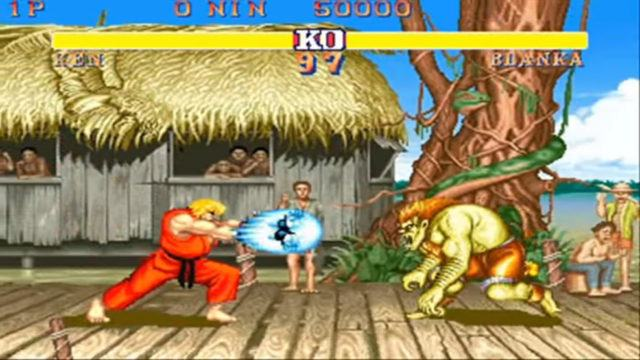 Street Fighter II arcade version