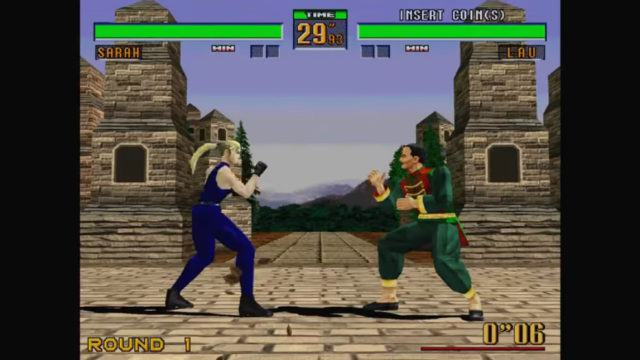 Virtua Fighter 2 arcade version