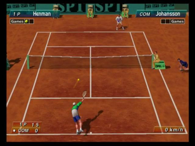Virtua Tennis 2 on the Dreamcast