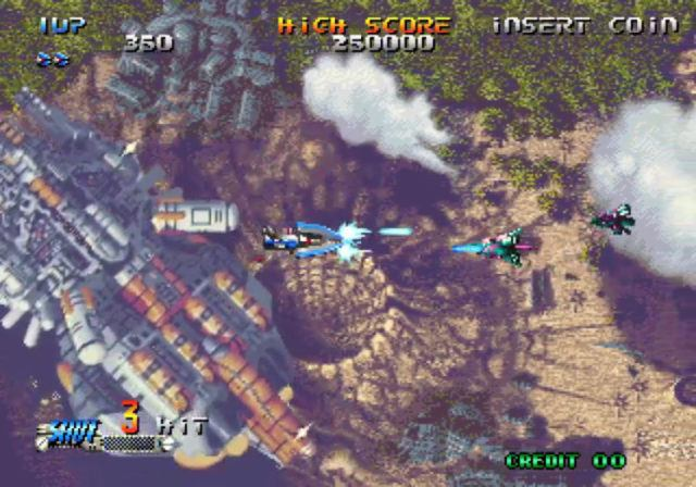 Blazing Star on the Neo Geo Mini International