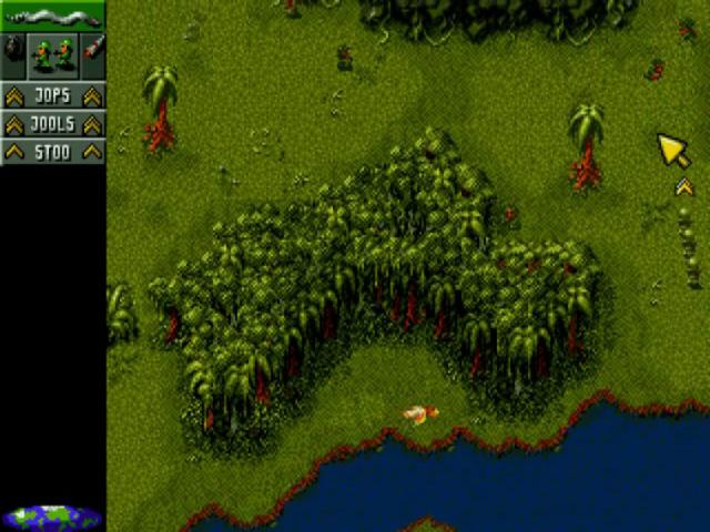 Cannon Fodder on the Amiga