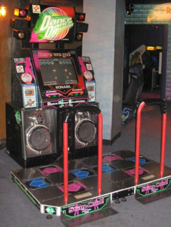 Dance Dance Revolution arcade version