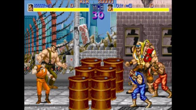 Final Fight arcade version