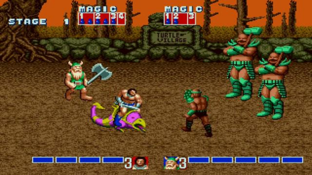 Golden Axe arcade version