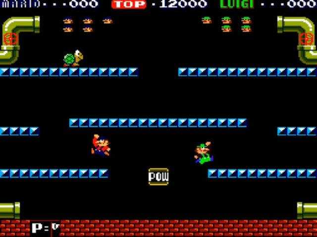 Mario Bros. arcade version