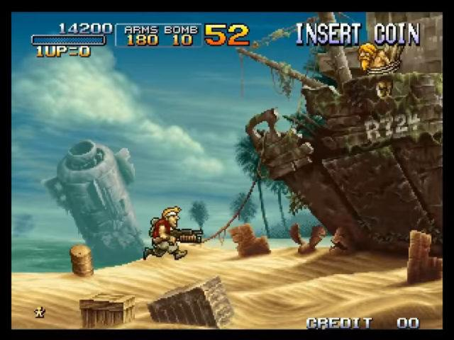 Metal Slug 3 arcade version