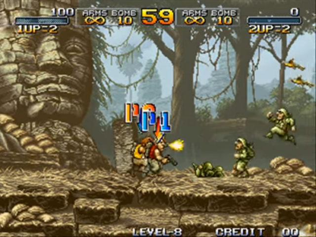 Metal Slug arcade version